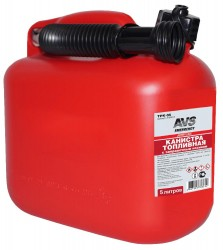 Канистра топливная пластик.5л.AVS TPK-05