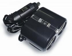 Разветвитель прикуривателя 12/24 (на 2 выхода) CS204 со светодиодной подсветкой