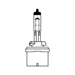 Галогенная лампа AVS Vegas H27/880 12V.27W.1шт.