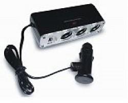 Разветвитель прикуривателя 12/24 (на 3 выхода+USB) CS313U