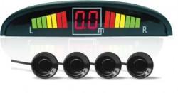 Парктроник PS-124U (4 датчика+коннекторы, цветной светодиодный дисплей с цифровым табло)