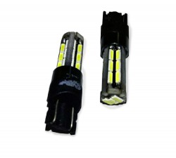 T105 T10 (W2.1x9.5D)CANBUS 27SMD 4014,блистер 2 шт. белый