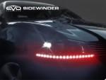 LED Ультраяркая лента EVO - 30cm (кнопка Try-me) - Красный/боковое свечение (2 шт)