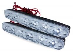Дневные ходовые огни (DRL) Light AVS DL-6A (2,4W, 6 светодиодов х 2шт)