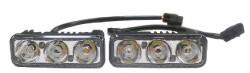 Дневные ходовые огни (DRL) AVS DL-3 (4.5W, 3 светодиода х 2шт)