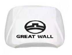 Чехлы на подголовник белые GREAT WALL (2шт)