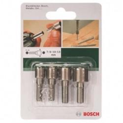 Набор головок торцевых ключей 4шт SW7/SW8/SW10/SW13 Bosch 2609255904