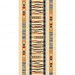 Дорожка ковр. Da Vinci ш. 1,2м D025 крем/синий