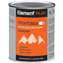 Грунтовка элемент PА-001 алкидная 0,75л белая