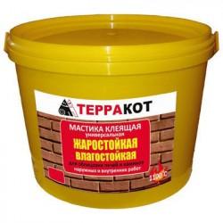 Мастика жаростойкая ТЕРРАКОТ 1,5кг