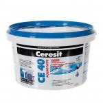 Затирка Ceresit СЕ 40 2-5мм 2,0кг водоотталкивающая, противогрибковая, багама 1046388
