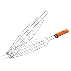 Решетка-гриль для рыбы HotPot  60(+4)х36х8-12х4
