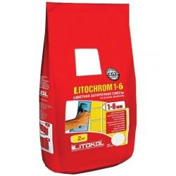 Затирка LITOKOL LITOCHROM 1-6 Luxury, цвет песочный, 2 кг
