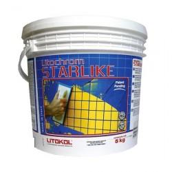 Затирка эпоксидная LITOKOL LITOCHROM STARLIKE, цвет абсолютно белый, 2,5 кг