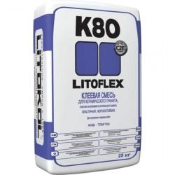 Клей плиточный LitoFlex K80 5кг