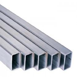 Труба алюминиевая прямоугольная 40*20*1,5 1,0м