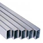 Труба алюминиевая прямоугольная 20*10*1,5 2,0м