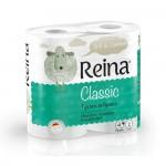 Бумага туалетная Reina Classic 2сл. 4 шт