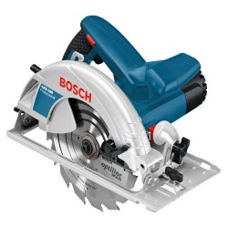 Пила циркулярная Bosch GKS-190 1400Вт, 5500об\м, диск-ф190х30мм,рез-70мм,1,8кг 0601623000