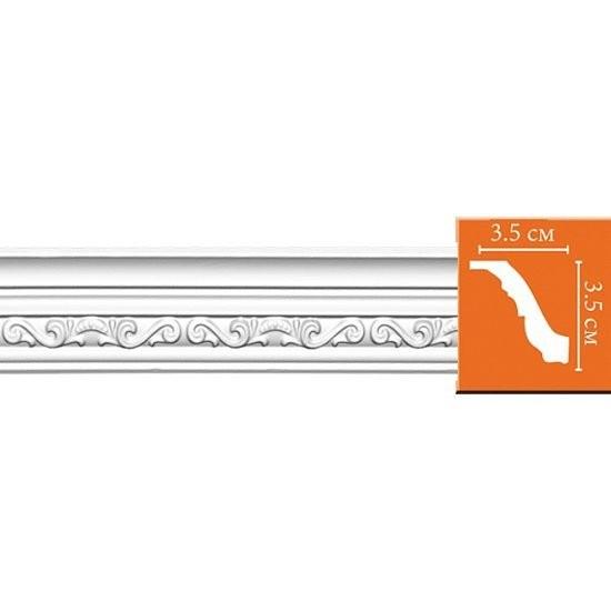 плинтус decomaster-2 35*35*2400мм 95842/68/60 dt-8842 орнамент из полиуретана decomaster 66141r 145х80х16 мм