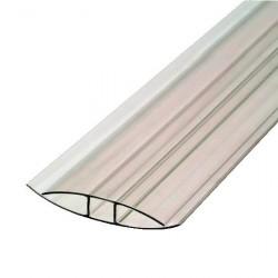 Профиль соединительный Н  8мм бесцветный 6м