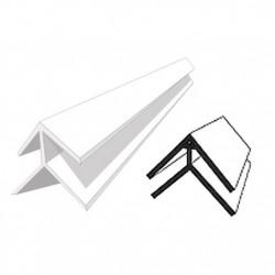 Профиль наружный 10мм 3,0м белый /Д/