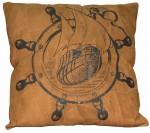 Подушка кожаная SHIP (60x60)