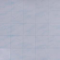 Панель ПВХ 0,96*0,485*0,002 кафельная плитка 68/1 Голубой мрамор