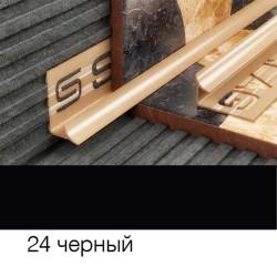 Раскладка внутреняя 8мм черная 2,5м 028024 SALAG