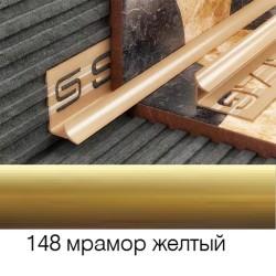 Раскладка внутреняя 8мм золотая 2,5м 028148 SALAG
