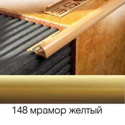 Раскладка наружная 9мм золотая 2,5м 019148 SALAG