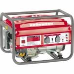 Генератор бензиновый KB 2500, 2,4 кВт, 220В/50Гц, 15 л, ручной старт KRONWERK