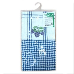 Набор полотенец Дуэт 2пр м201_01 голубой