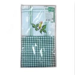 Набор полотенец Дуэт 2пр м201_03 зелёный