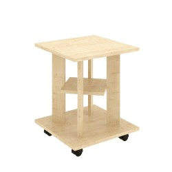 Стол кофейный ТАК-31 (Клен танзай) 0,4*0,4*0,5