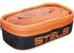 Трос буксировочный 10 тонн, 2 крюка, сумка на молнии STELS Россия