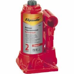 Домкрат гидравлический бутылочный 20 т, h подъема 215-420 мм SPARTA Compact