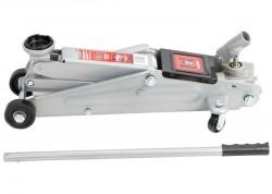 Домкрат гидравлический подкатный, 3 т, h подъема 130410 мм, поворотная ручка MATRIX