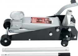 Домкрат гидравлический подкатный, 3,5 т, h подъема 145–490 мм, с педалью MATRIX MASTER