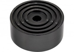 Опора резиновая для подкатного домкрата, d-105мм, h-35мм, MATRIX 50901