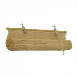 Штора рулонная бамбук 7001 140*160 Осака натуральная