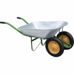 Тачка садовая, два колеса, грузоподъемность 170кг, объем 78 литров PALISAD