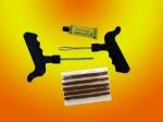 Ремкомплект для бескамерных шин (3 рем. вставки + клей)