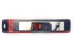 Зеркало в/салонное  панорамное прямоуг.прямое 330*72мм (премиум)