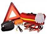 Набор Аварийный  AM-EK02 (треуг, трос 5м, компрессор, перчатки, фонарь, кабели)