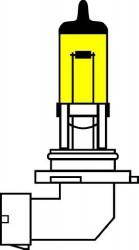 Галогенная лампа AVS /ATLAS ANTI-FOG/желтый H27/881 12V.27W.2шт.