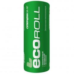 Теплоизоляция Ecoroll, 6800 х 1220 х 50 мм (16,60 м2; 0,83 м3; 2 шт)