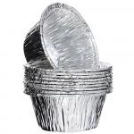 Форма из алюминия круглая для приготовления и хранения пищи 7,5*3,8см/10шт/ MARMITON 11364