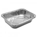 Форма из алюминия прямоугольная для приготовления и хранения пищи 32*26*6,5см/3шт/ MARMITON 11359