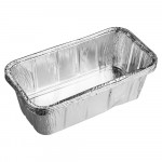 Форма из алюминия прямоугольная для приготовления и хранения пищи 22*11,5*6см/5шт/ MARMITON 11356